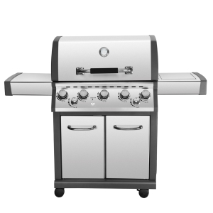 Gas BBQ 5B with side burner and rear burner