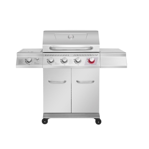 Stainless steel 4B&5B&6B 3kW(each) gas grill, High Temperature Main Burner & Infrared Back Burner are available