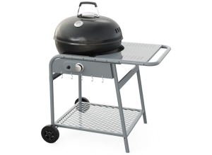 "Kettle Gas Grills 22"", single burner, with side tabel"