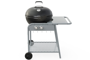 """Kettle Gas Grills 22"""", two burners, with side tabel"""