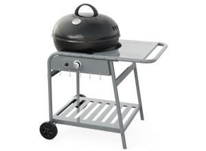 "Kettle Gas Grills 22"", single burner, with sakelite handle"